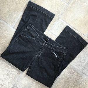 White House Black Market Black Blanc Jeans